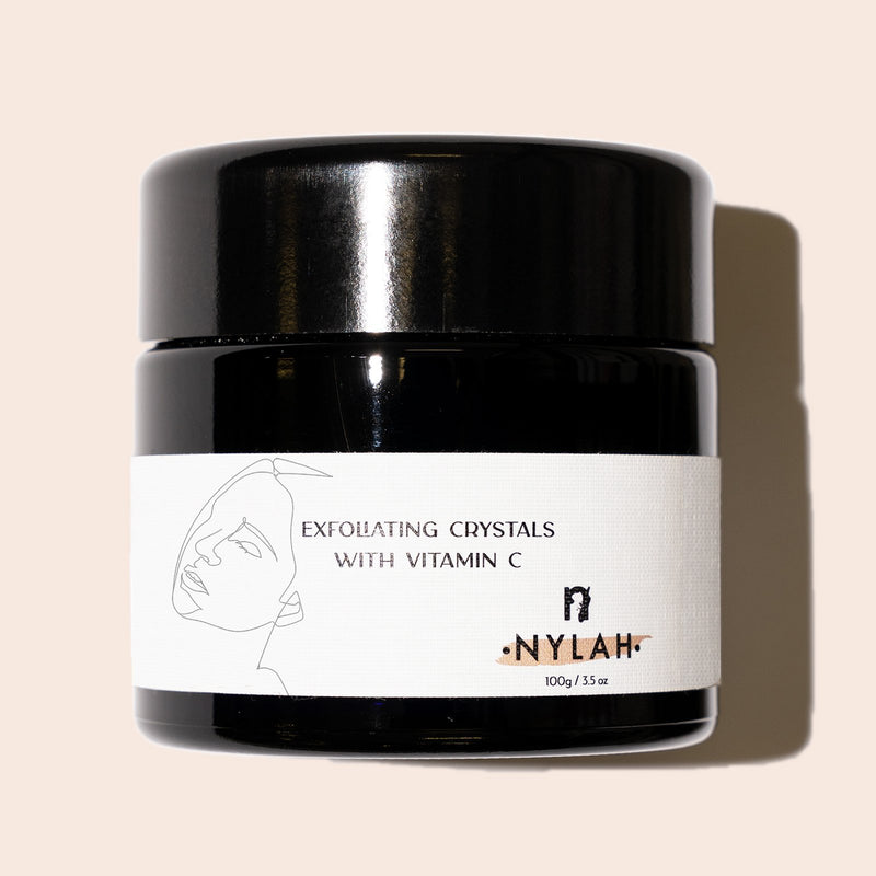 Exfoliating Crystals With Vitamin C - Nylah Skincare
