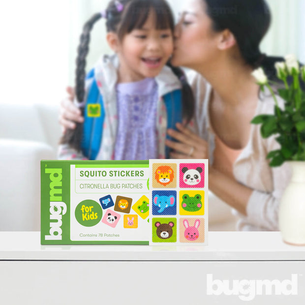 Squito Stickers for Kids