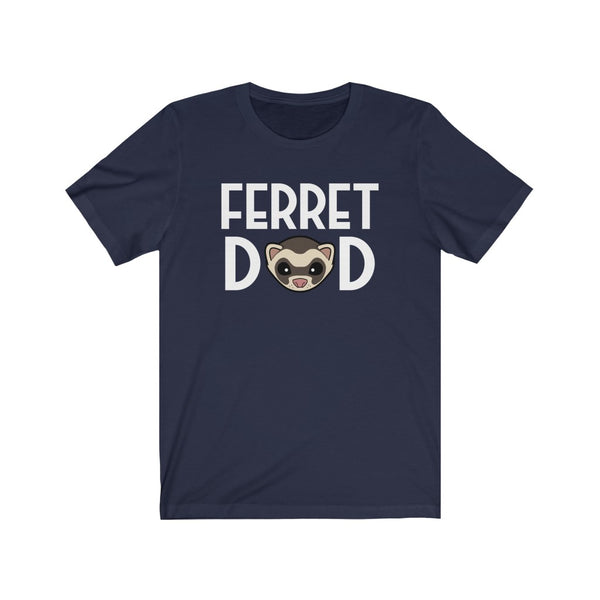 FERRET DAD Cute Ferret Face T-Shirt