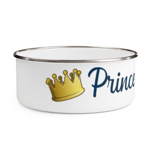 Prince Poopypants Metal Food Dish