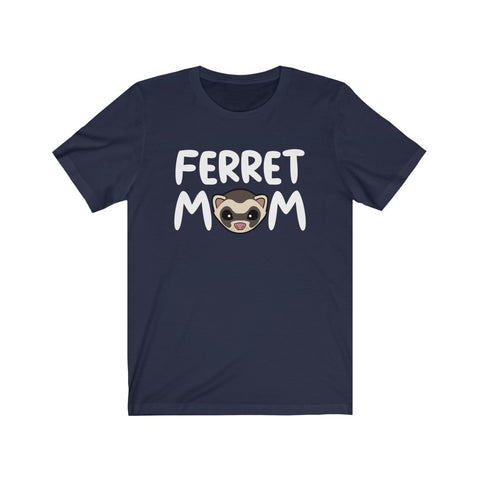 FERRET MOM Cute Ferret Face T-Shirt