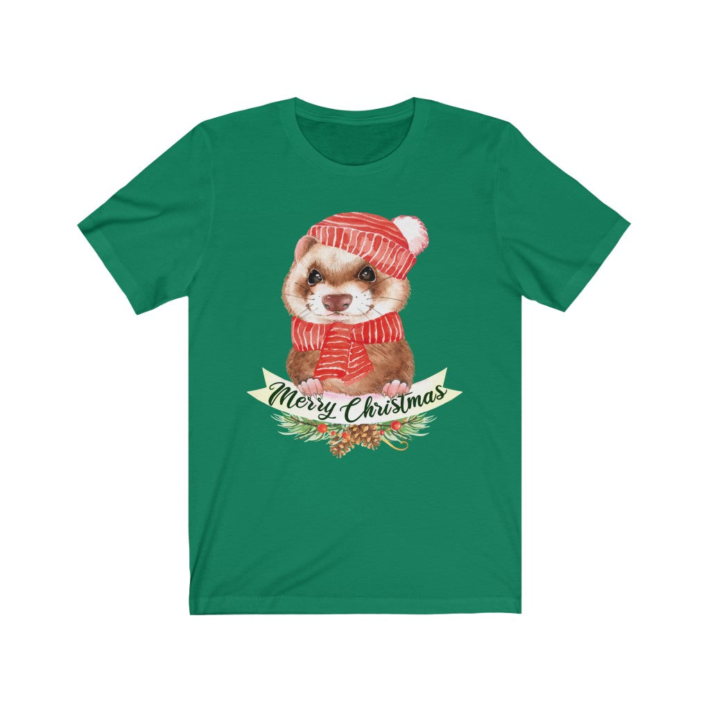 Merry Christmas Ferret T-Shirt