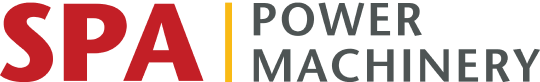 Spa Power machinery Logo