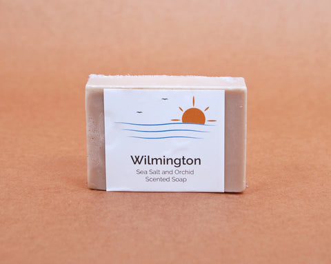 Wilmington NC Scented Soap | Sea Salt and Orchid