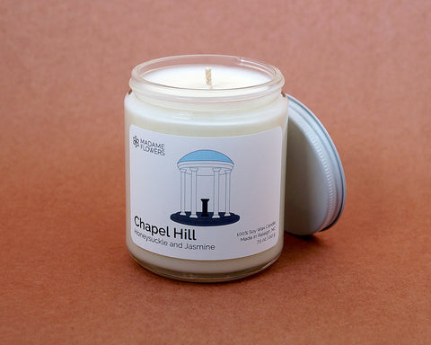 Chapel Hill North Carolina Candle