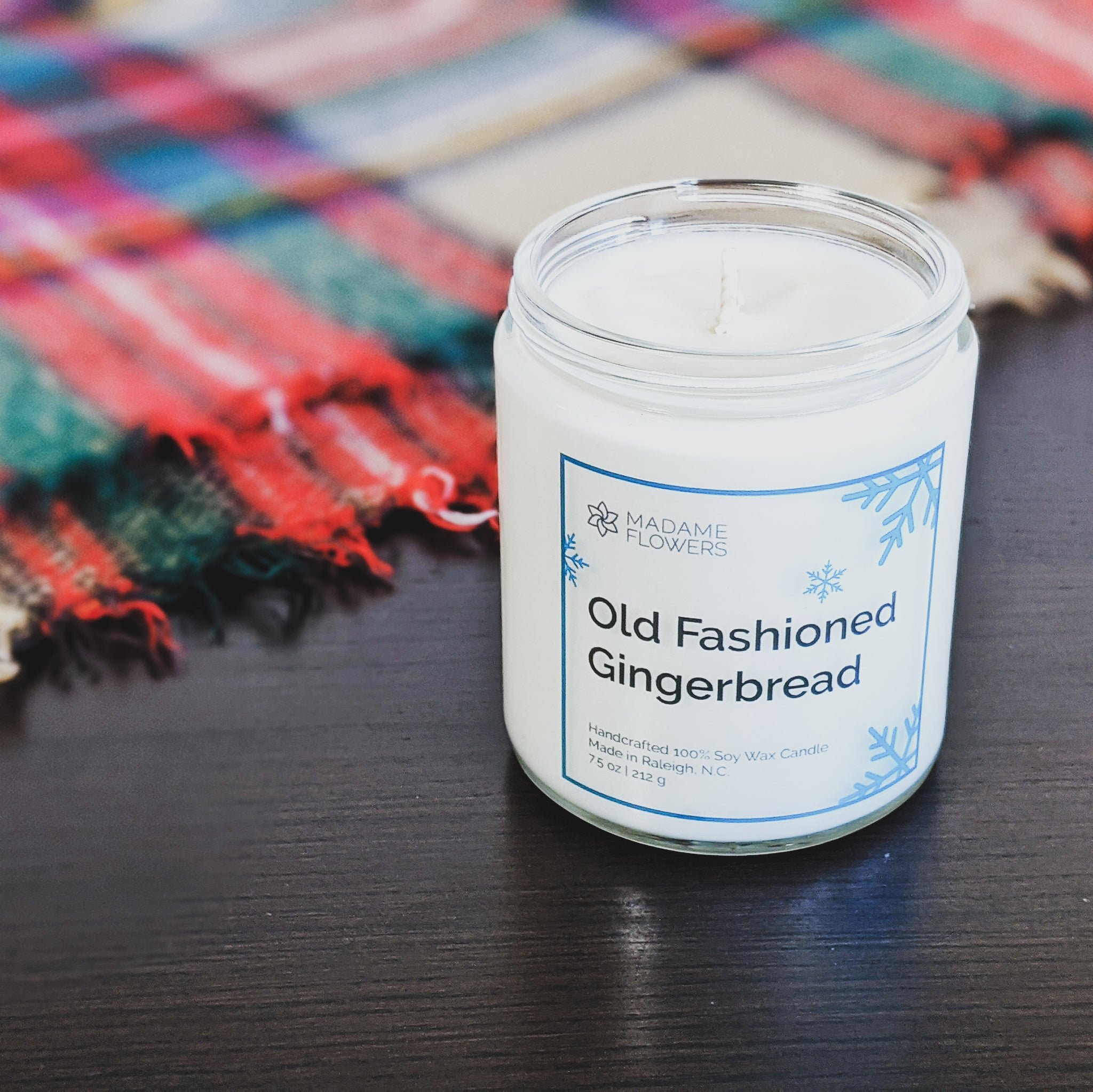 Old Fashioned Gingerbread Candle