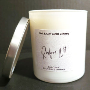 Load image into Gallery viewer, Ready or Not Luxury Scented Candle