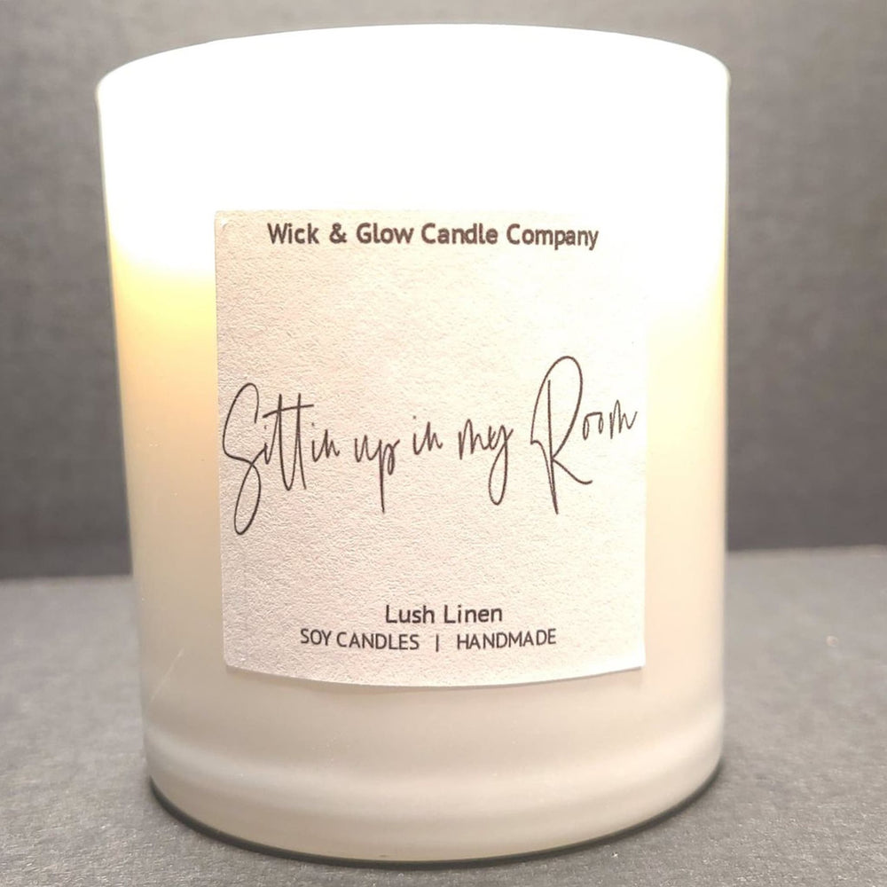 Sittin' Up In My Room Luxury Scented Candle
