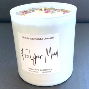 Free Your Mind Luxury Candle
