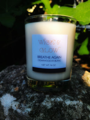 Breathe Again Luxury Candle
