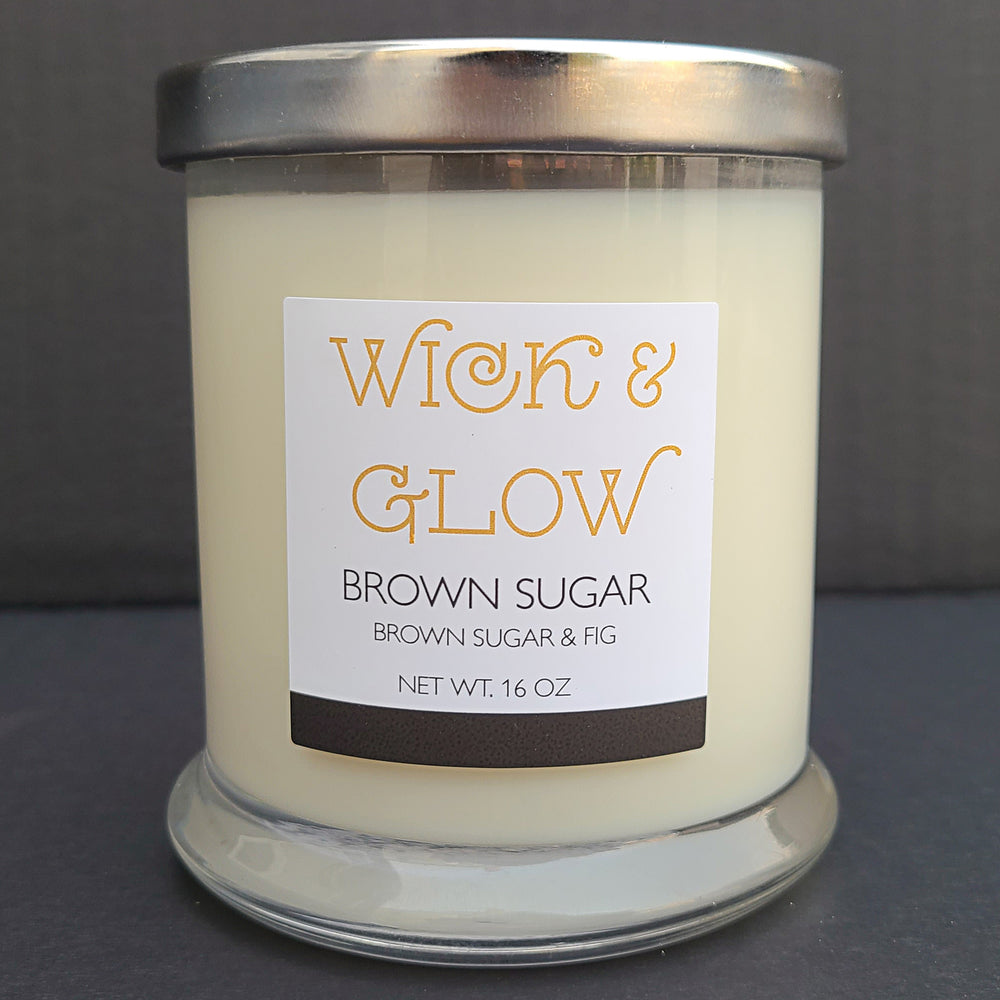 Brown Sugar Luxury Candle