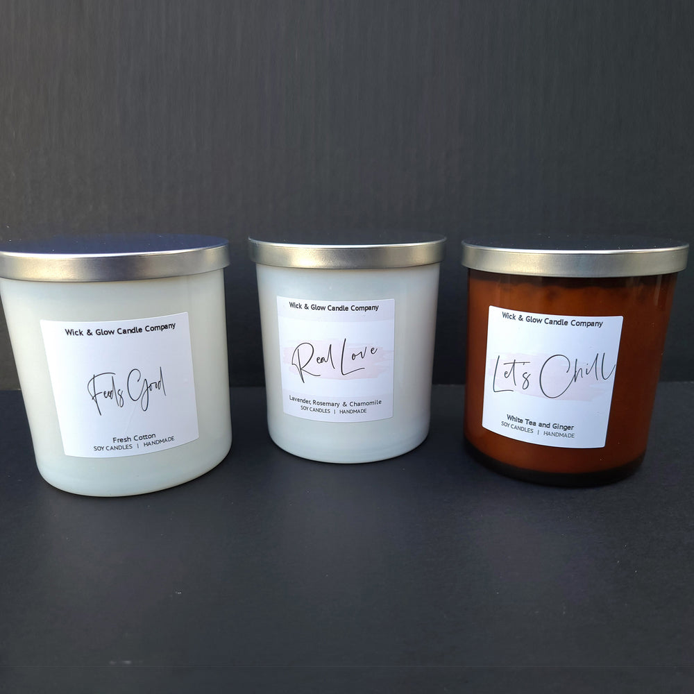 R&B Mixtape Luxury Candle Set