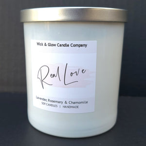 Real Love Luxury Candle