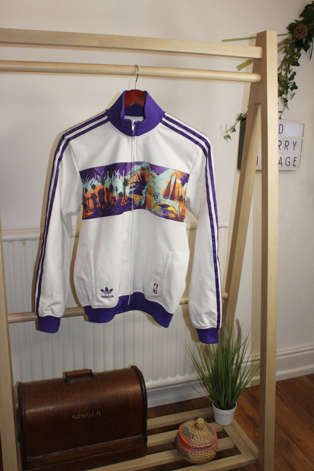 Adidas Lakers Track Top