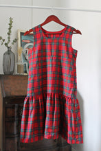 Load image into Gallery viewer, Red Tartan Dress