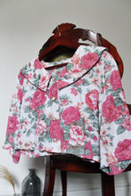 Load image into Gallery viewer, Pink Cropped 50's Shirt