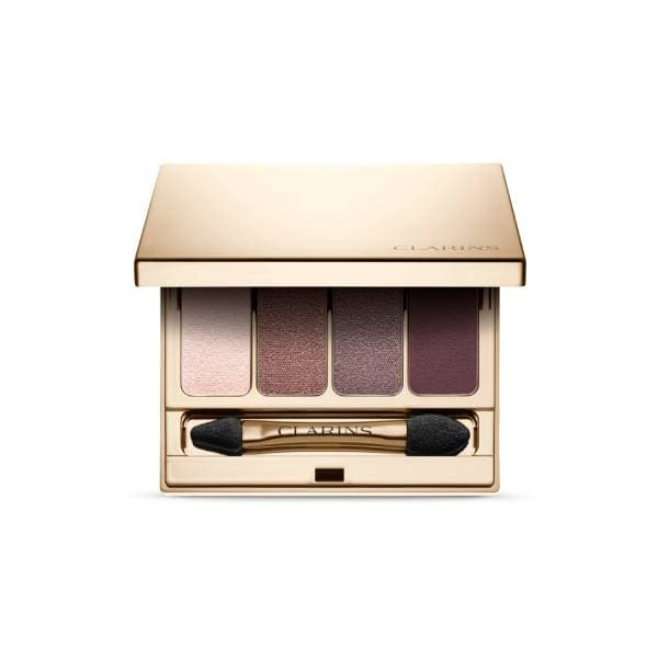 4 Colour Eyeshadow Palette (Smoothing & Long Lasting) - #02 Rosewood Makeup Clarins