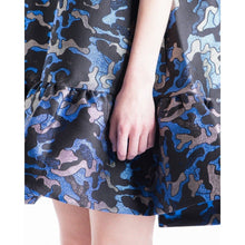 Load image into Gallery viewer, Alberthine jacquard flare dress Women Clothing Baum und Pferdgarten