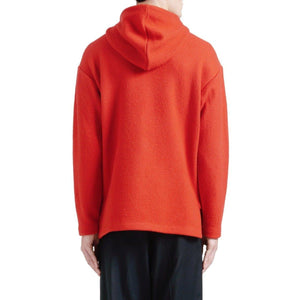 Boiled wool hooded sweater Men Clothing Filippa K
