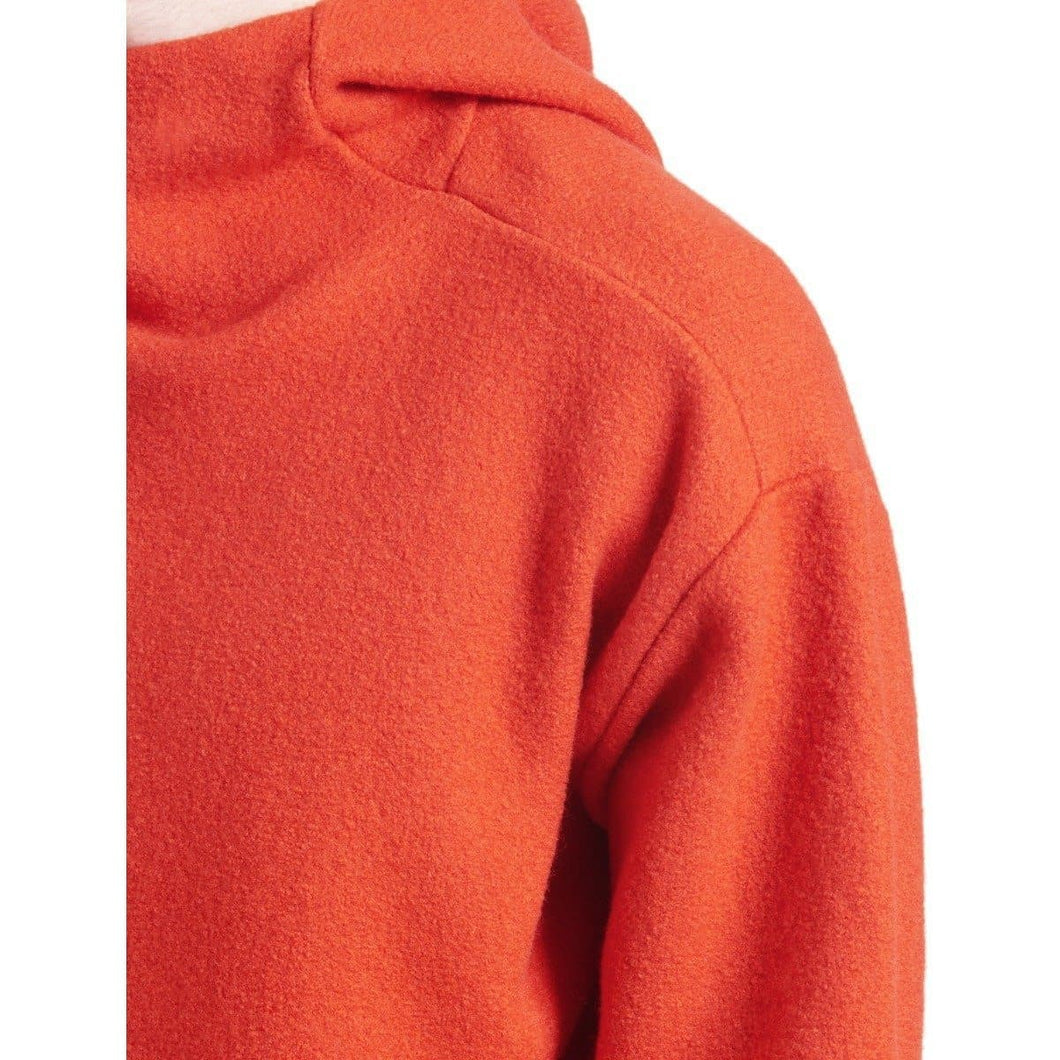 Boiled wool hooded sweater Men Clothing Filippa K S