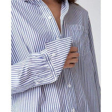 Load image into Gallery viewer, Brave striped cotton poplin shirt Women Clothing Hope