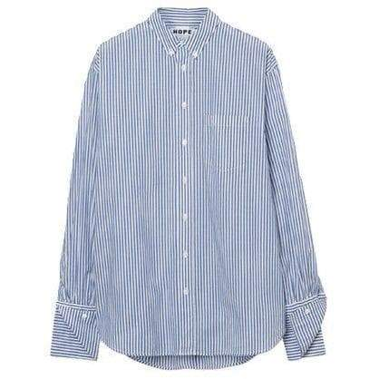 Brave striped cotton poplin shirt Women Clothing Hope 34