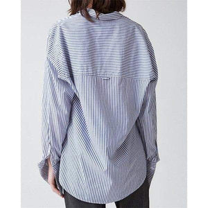 Brave striped cotton poplin shirt Women Clothing Hope