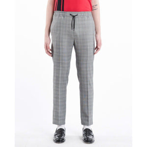 Calvin wool mix checker pants Men Clothing Won Hundred 46