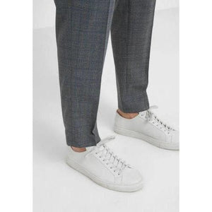 Calvin wool mix checker pants Men Clothing Won Hundred