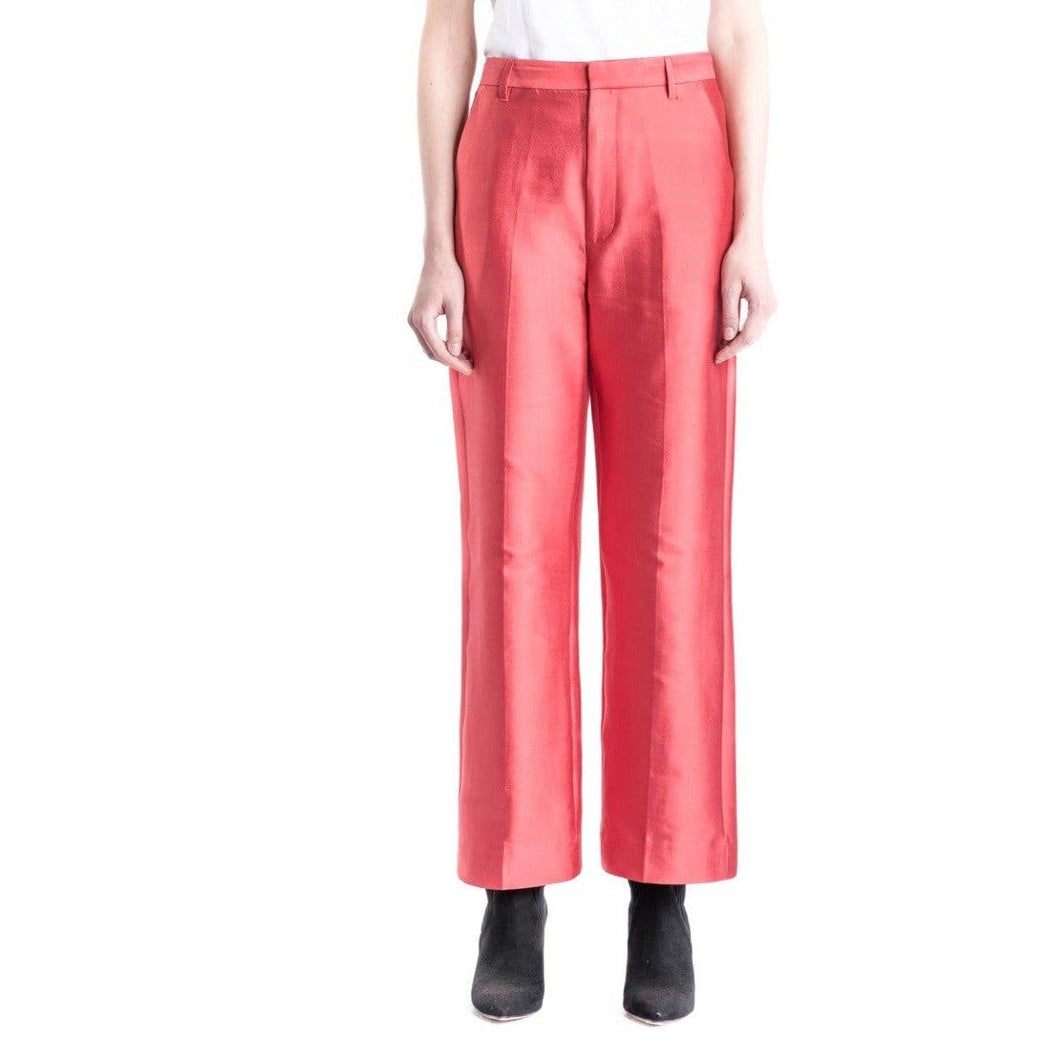 Caron satin silk trouser Women Clothing Whyred 34