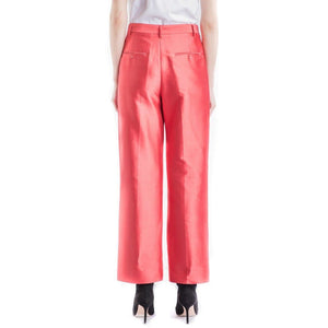 Caron satin silk trouser Women Clothing Whyred
