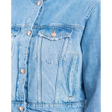 Load image into Gallery viewer, Courtney cropped denim jacket Women Clothing Won Hundred