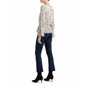 Cropped flared pants Women Clothing ByTiMo