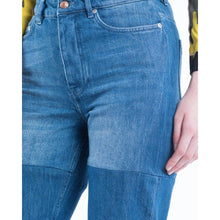 Load image into Gallery viewer, Dita panel straight leg jeans Women Clothing Won Hundred