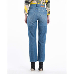 Dita panel straight leg jeans Women Clothing Won Hundred
