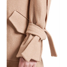 Load image into Gallery viewer, Edith wool ruffle coat Women Clothing Designers Remix 36