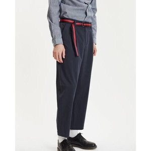 Helterskelter Navy Cotton Stretch Trousers Men Clothing Libertine-Libertine