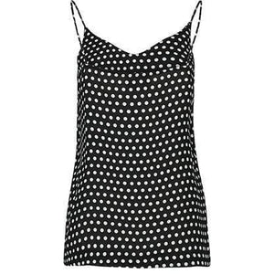 Hiro polka dot cami Women Clothing Just Female