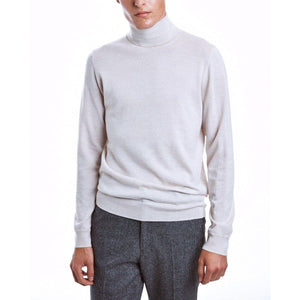 Icky white merino wool rollneck sweater Men Clothing Whyred S