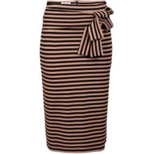 將圖片載入圖庫檢視器 Jalyn stripe knitted pencil skirt Women Clothing Baum und Pferdgarten