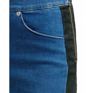 Kiera contrast panel jeans Women Clothing Won Hundred 26