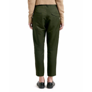 Krissy army green cropped pants Women Clothing Hope 34