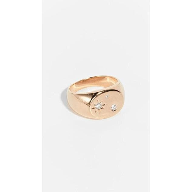 Lab Diamond Ring Women Jewellery Scosha Gold 6