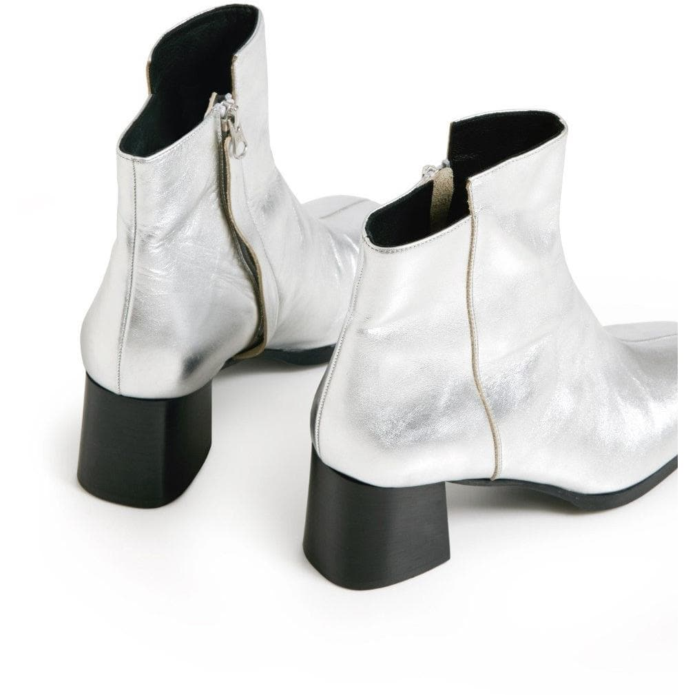Mac bootin metallic leather ankle boots WOMEN SHOES Hope 36
