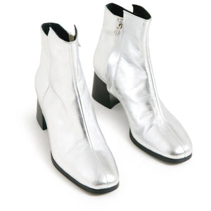 Mac bootin metallic leather ankle boots WOMEN SHOES Hope