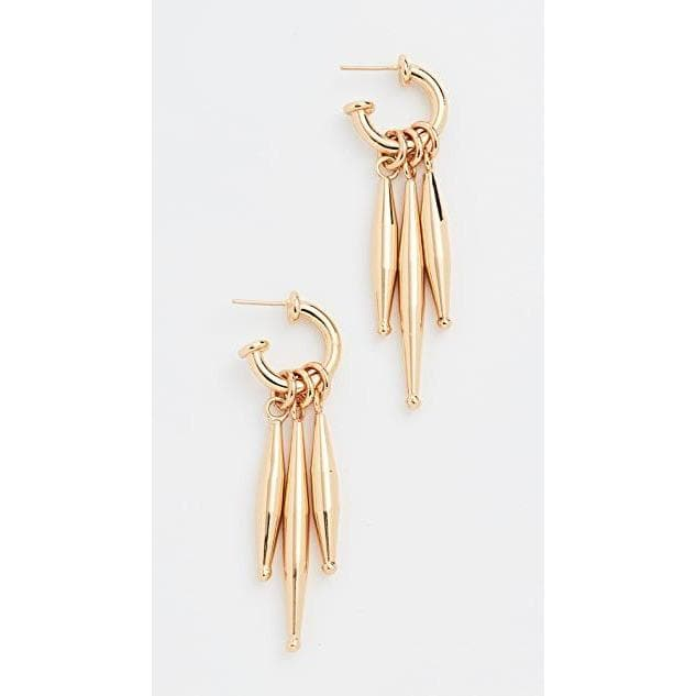 Maia Earrings Women Jewellery Tohum Gold One Size