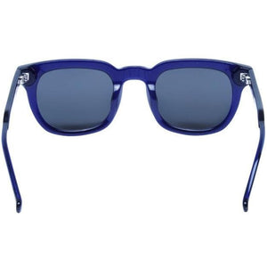 Material Boy royal blue shiny square frame acetate sunglasses ACCESSORIES Kaibosh