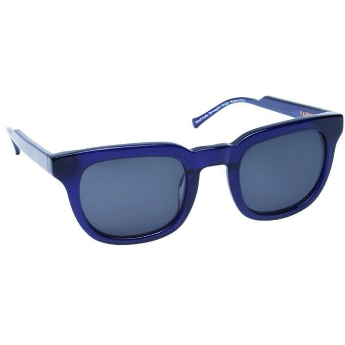 Material Boy royal blue shiny square frame acetate sunglasses ACCESSORIES Kaibosh O/S