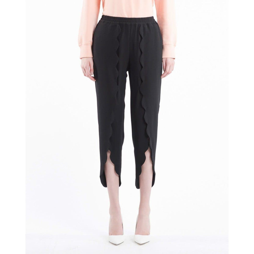 Mattie scallop cropped pants Women Clothing Designers Remix 34