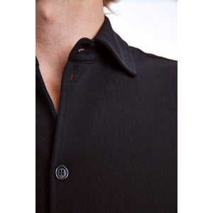 Mills black cotton uniform shirt Men Clothing Whyred
